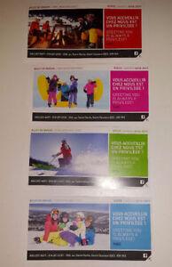 Billets de ski