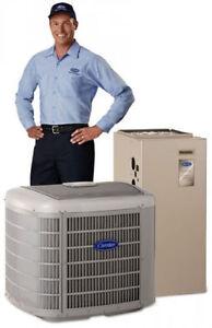 Furnace,AC,water heater,ductwork,install,repair,upto2750$ rebate