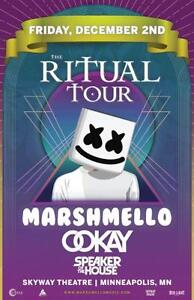 2 Tickets to Marshmello December 2 at Skyway Theatre
