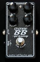 Xotic BB Bass Preamp Overdrive Distortion