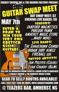 Guitar Swap Meet and Rockabilly Show May 7th Amherst