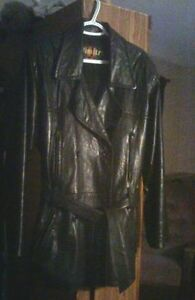 Women's Dimitri Couture Black Leather Jacket