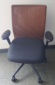 Mesh Back Office Chairs with Arms