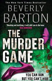 The Murder Game Paperback Book by Beverly Barton.