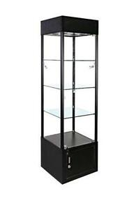 curio cabinet/ showcase/ glass case/ display case