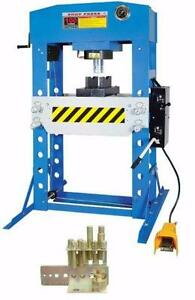 NEW 50 & 75 & 100 TON AIR HYDRAULIC SHOP PRESS & BOTTLE JACK