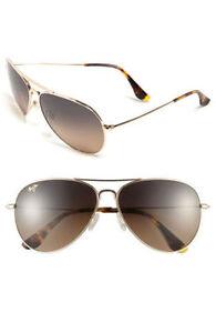 NEW Maui Jim Sunglasses. Aviator style / Maverick model