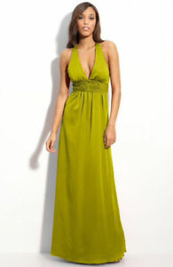 BCBG satin dress/gown