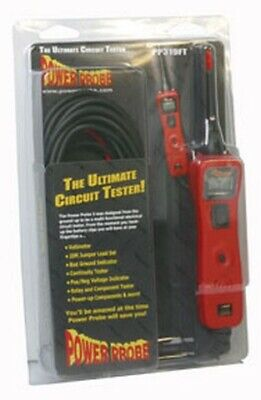 Power Probe III in Clamshell, Red PWP-PP3CSRED Brand New!