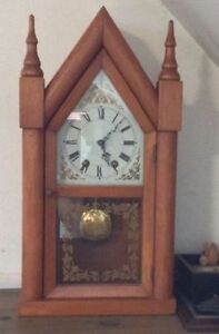 White pine clock - with optional chimes