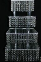 Elegant Chandelier Cupcake Stand for rent