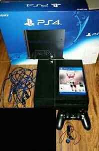 PS4 500 gb with 1 controller and NHL16 (model 1215A)