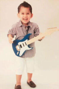 SPRING AND SUMMER GUITAR LESSONS FOR CHILDREN $16.25/45 MINUTES