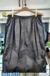 Genuine Leather Skirt size 12 OBO Cornwall Ontario image 1