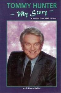 Tommy Hunter Biography and autographed concert program