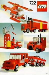 Lego 722-1 Universal Building Set: Basic Set