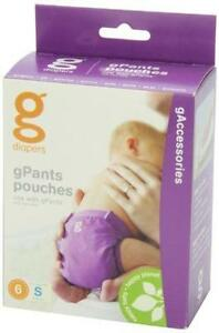 gDiapers gPants Pouches, Small (6 Count)