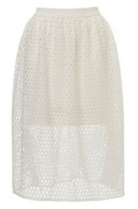 30a32c82e4 Kookai White Aria Midi Skirt - Size 38 | Dresses & Skirts | Gumtree ...