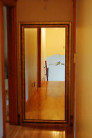 Large FLOOR Mirror (Anique Gold Frame)