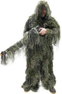GHILLIE SUITS - AIRSOFT - PAINTBALL - HUNTING - AND AWESOME HALLOWEEN FUN - 3 PIECE SYSTEM