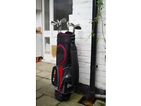 Dunlop MXII Golf Bag with 9 Lynx Predator II irons