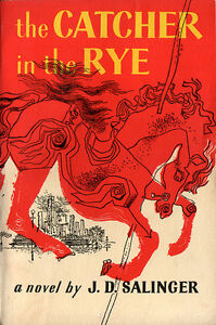 Catcher In The Rye Paperback Novel, Excellent Cond.