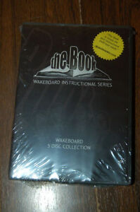 Wakeboard The Book  - Brand New DVD's 5 Disc Collection