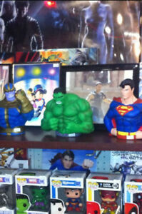 Hulk / Marvel Comic Toys Accessories Collectibles & More