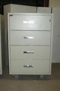 Lateral Fireproof Filing Cabinet; Fire Proof Filing Cabinet