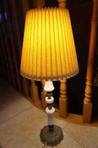 Brass-Marble Desk Lamp