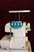 JANOME 4DLB SERGER - LIKE NEW