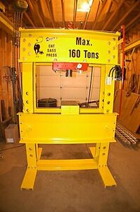 160 Ton Hydraulic Press