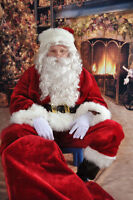 The perfect Santa Claus for a corporate or a private party