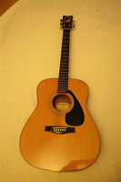 yamaha fg 402 acoustic guitar  new strings and set up $175