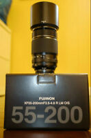 Fuji 55-200mm: Nearly New, Clean, Sharp!
