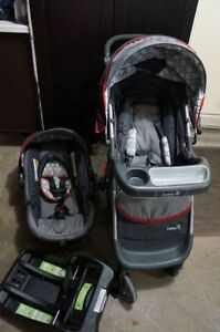 Safety 1st Carseat and Stroller with onboard 35- complete set