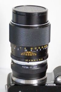 Yashica YUS 135mm f2.8>>>>>> Portrait lens adapted.for Sony A7