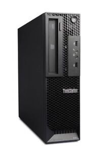 Lenovo Thinkstation E31 (small desktop) -- upgraded hardware!