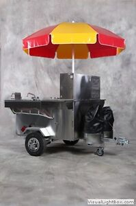 Hot Dog Cart - Hummer by Willy Dog