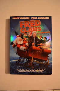 Fred Claus Christmas DVD