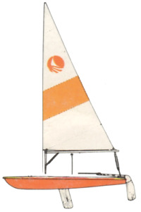 Bombardier 3.8 sailboat for sale