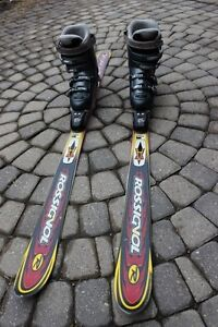 Rossignol Mountain Viper skis 150 cm & women's boots 24.5 US 7 t
