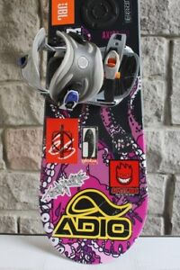 Snowboard 156 cm long Adults size Axis Wide with Nitro bindings