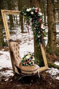 HUGE Vintage Frame Wedding, Birthdays, Anniversary, New Years