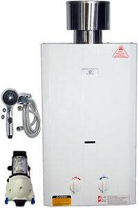 Eccotemp L10 Tankless Water Heater Bundle 12V pump & shower head