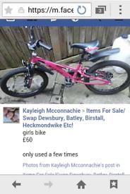 girls 24inch bike