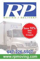 CALL RP MOVING NOW FOR YOUR UPCOMING MOVE