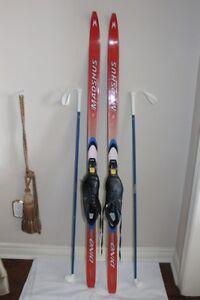 Madhus XC Skis Cross Country Ski set Junior 140 cm w/ Sns Profil