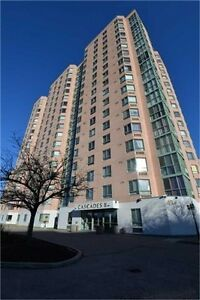 Beautiful 2 B/R, 2 W/R Condo With Low Maint at Prime Location