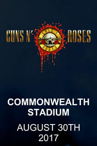 GUNS N ROSES - FLOOR SEATS - EDMONTON!!!!!